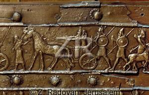 1007-2 Assyrian war chariot