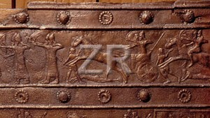 1007-4 Assyrian war chariot