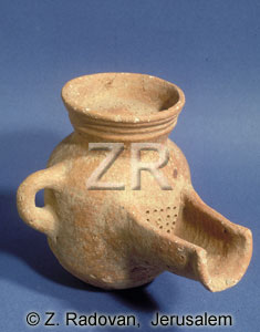 105-1 philistine beer jug