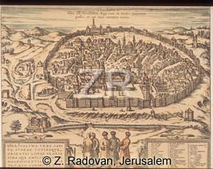 1068-1 Jerusalem map