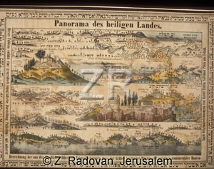1073-3 Map of the Holy Land