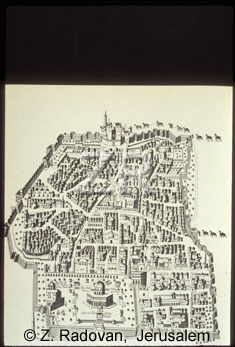 1215 Map of Jerusalem