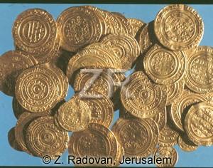 1272-1 Mamluk gold coins