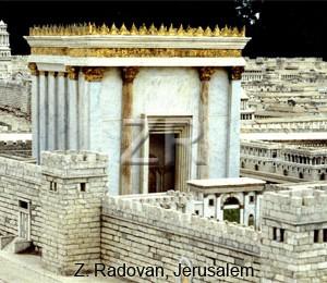 129-17 Herods Temple-(model)