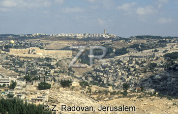 1409-2 Jerusalem from sout