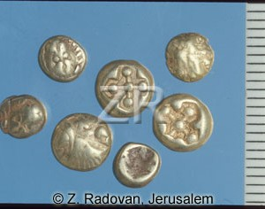 1528-2 Early Greek coins