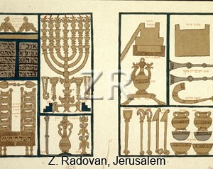 1554-4 Temple artifacts