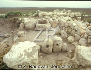 1586-1 Ekron excavations