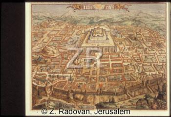 1603 Jerusalem map