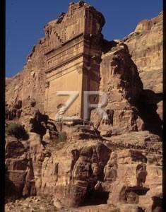 1808-10 Petra Nabatean tomb
