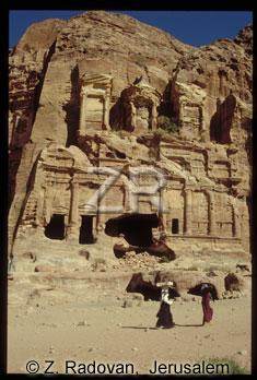 1808-13 Petra Nabatean tomb