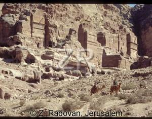 1808-17 Petra Nabatean tomb