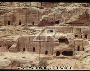 1808-5 Petra Nabatean tombs