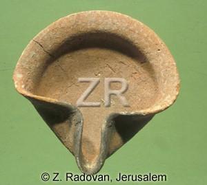 1940-2 Israelite oil lamp