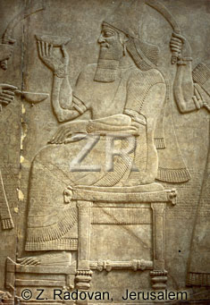 2165-3 King Ashurbanipal II