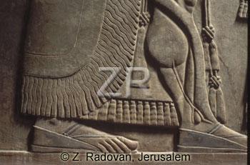 2193 Assyrian sandal