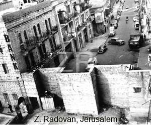 22988. Divided Jerusalem