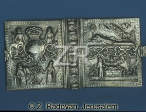 2310 Prayer book silver cov