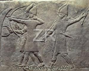 2435-2 Assyrian archers