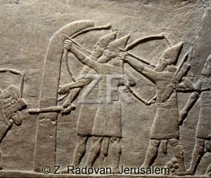 2435-3 Assyrian archers