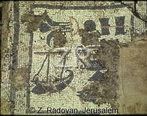 2452-1 Boat mosaic