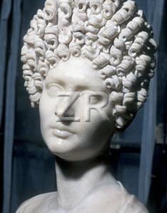 2458-2 Roman lady