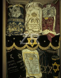 2467 Ark with Torah Scrolls