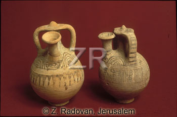 2626-5 philistine beer jugs