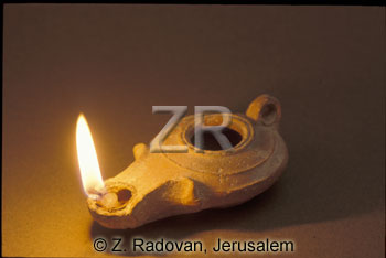 2641-1 Herodian oil lamp
