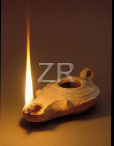 2641 Herodian oil lamp