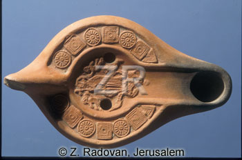 2645 Byzantine oil lamp