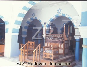2874-5 Synagogue Djerba