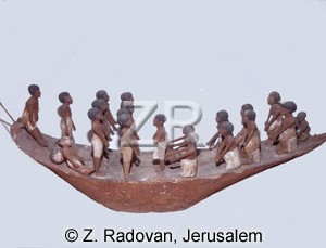 3196-1 Egyptian river boat