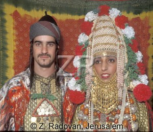 3224-1 Yemenite couple