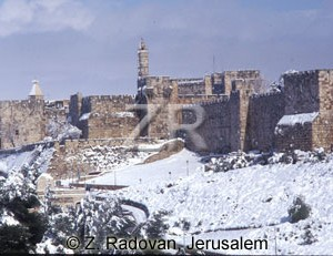 327-2 Snow in Jerusalem