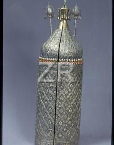 3694-4 Silver Torah case