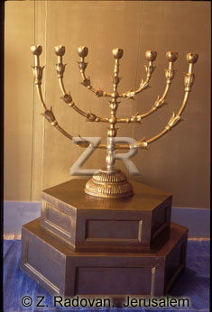 3728-1 The golden Menorah