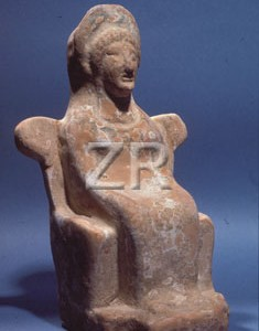 3786-2 Seated Goddess