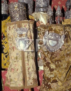 383-2 Torah scrolls in Ark