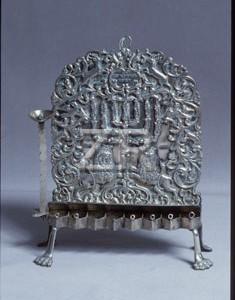4073 Hanukkah lamp
