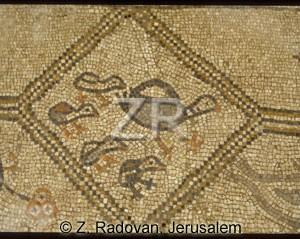4096-6 Beth Alpha mosaic