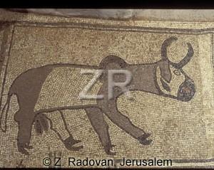 4096-9 Beth Alpha mosaic