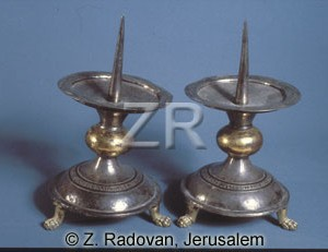 4255 Crusader candlesticks