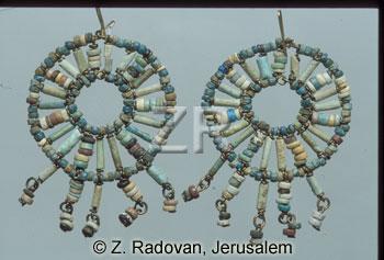 4297-1 Glass earrings