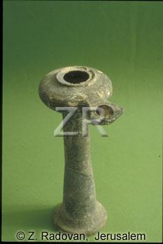 4346 Herodian oil lamp