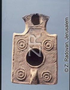4351-18 Herodian oil lamp