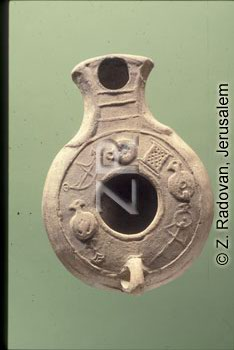 4351-4 Herodian oil lamp