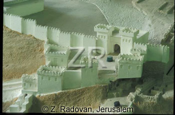 436-3 Megiddo Gate model