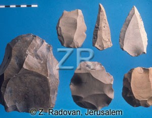 4390 Paleolithic tools