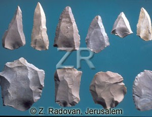 4391 Paleolithic tools